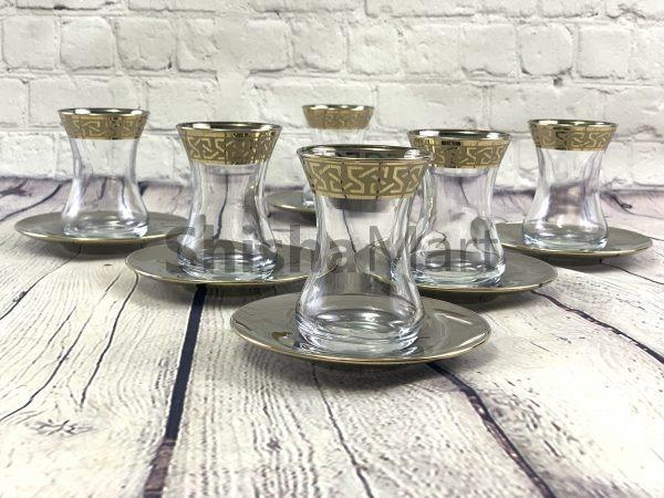Byart Turkish Tea cup Set