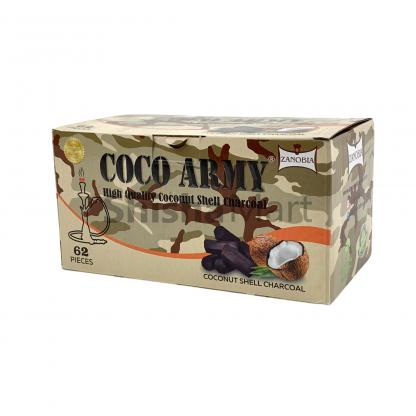 Coco Army Coconut Hexagonal Charcoal