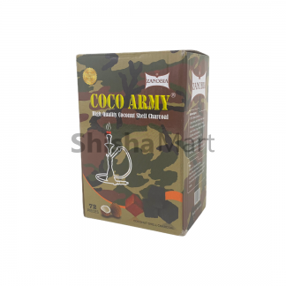 Coco Army Coconut Charcoal 72 Pieces